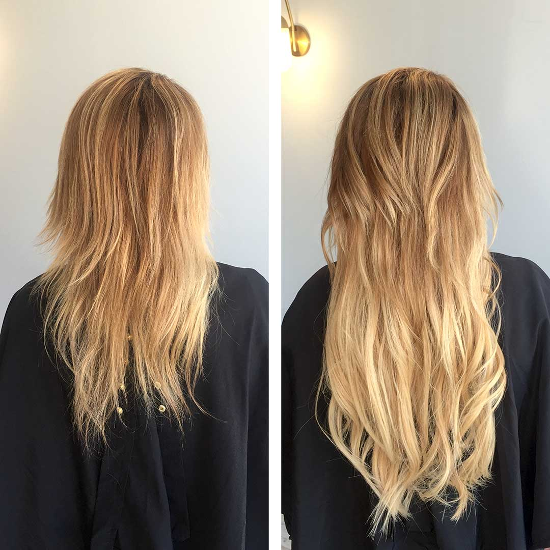 Sewing Hair Extensions