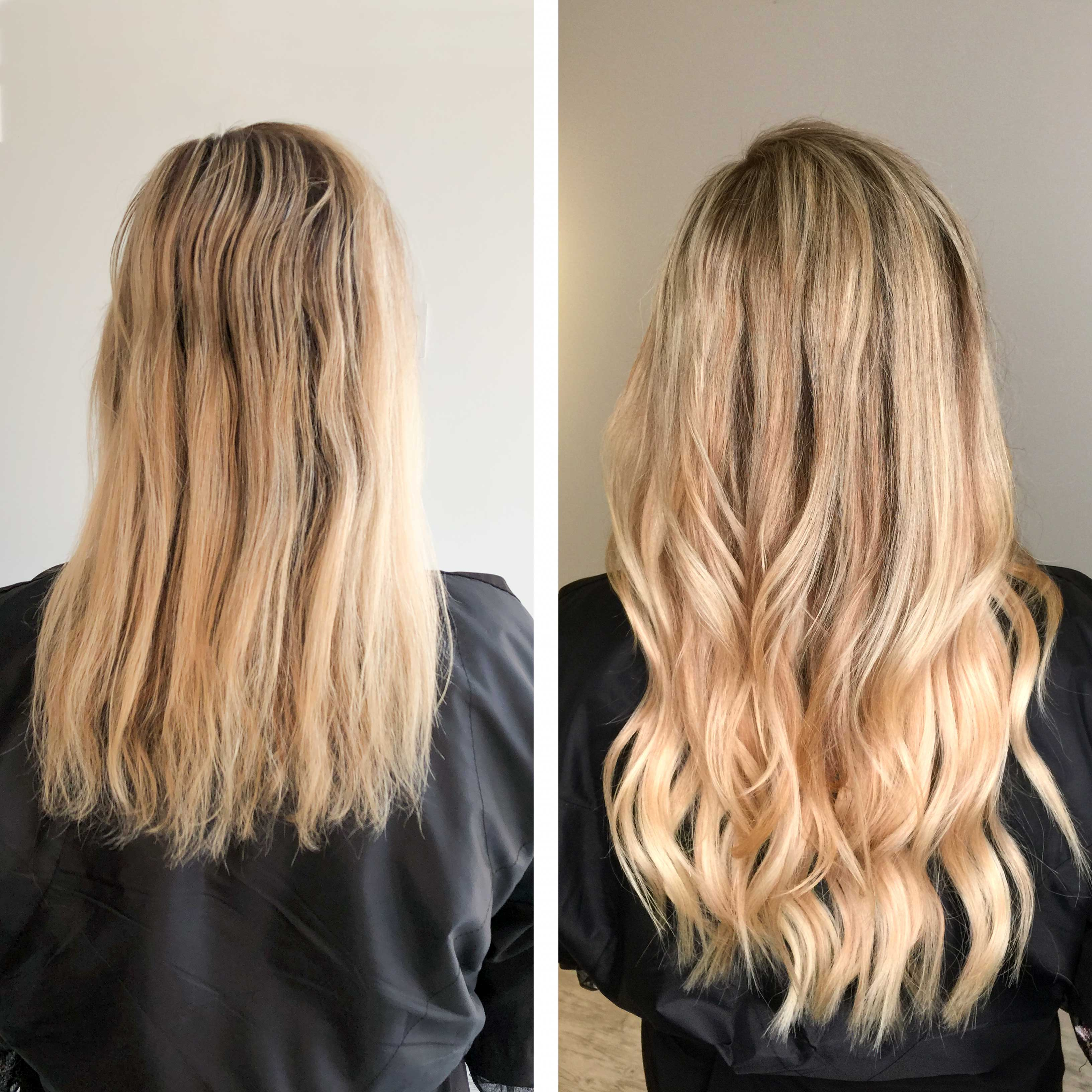 Hand Tied Hair Extensions by the Best Salon in Greenville SC | The  Beautiful Co. Salon